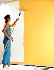 Покраска стен офиса Киев