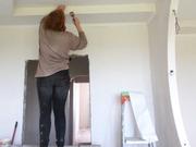 Беспесчанка Покраска потолка